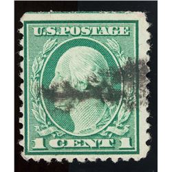 1922 United States 1 Cent Rotary Perf 11 Stamp