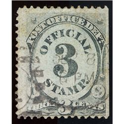 United States Special 3 Cents Error Stamp