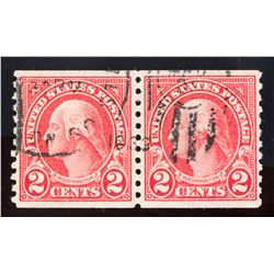Rare 2 PC 1922 United States 2 Cents Stamp