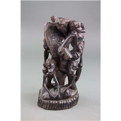 19th Century African Blackwood Carved Statue