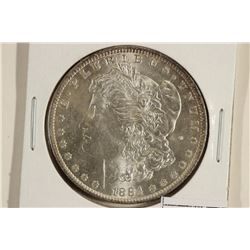1884-O MORGAN SILVER DOLLAR UNC