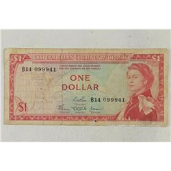 EAST CARIBBEAN $1 BILL