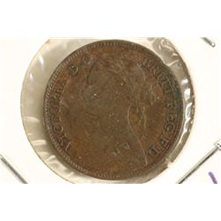 1861 GREAT BRITAIN 1/4 FARTHING