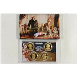 2007 PRESIDENTIAL DOLLAR PROOF SET WITH BOX