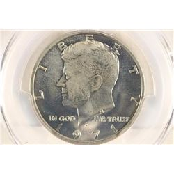 1971-D KENNEDY HALF DOLLAR PCGS MS65