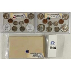 1956-P & D US DOUBLE MINT SET ANACS GRADED
