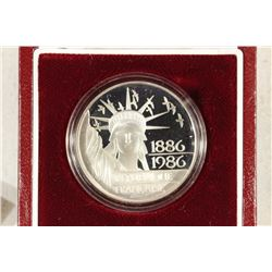 1986 FRANCE SILVER PROOF 100 FRANCS