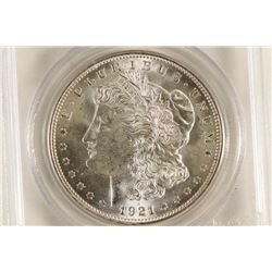 1921 MORGAN SILVER DOLLAR PCGS MS64