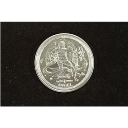 2014 ISLE OF MAN .999 SILVER 1 OZ. ANGEL UNC