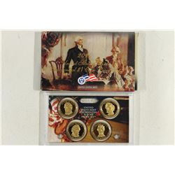 2010 PRESIDENTIAL DOLLAR PROOF SET WITH BOX