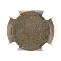 1835 US HALF CENT NGC VERY FINE DETAILS