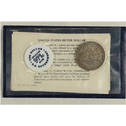 GSA SOFT PACK 1881-O MORGAN SILVER DOLLAR
