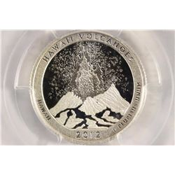 2012-S SILVER HAWAII VOLCANOES N.P. QUARTER PCGS