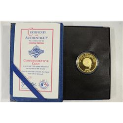 1997 WORLD SERIES .999 (FINE) SILVER COMMEMORATIVE