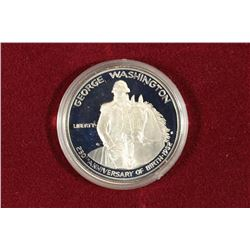 1984-S GEORGE WASHINGTON SILVER PROOF COMMEM.