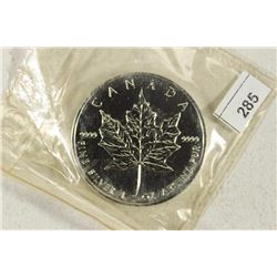 1994 CANADA 1 OZ. SILVER $5 MAPLE LEAF