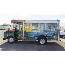 "81 Chevy Van - Wrapped in Hawaii Theme, 155.5""L, 76.5""W, 74""H - Has Title, Plate Expired 2016"