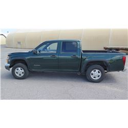2005 Chevrolet Colorado LS Pick-Up Truck, Has Title, Registration Expires Feb. 2018