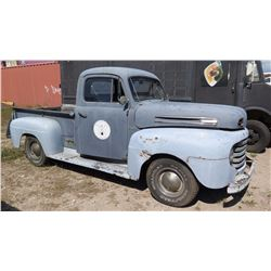 1949 Vintage Ford F1 Pickup Truck - No Title, No Keys