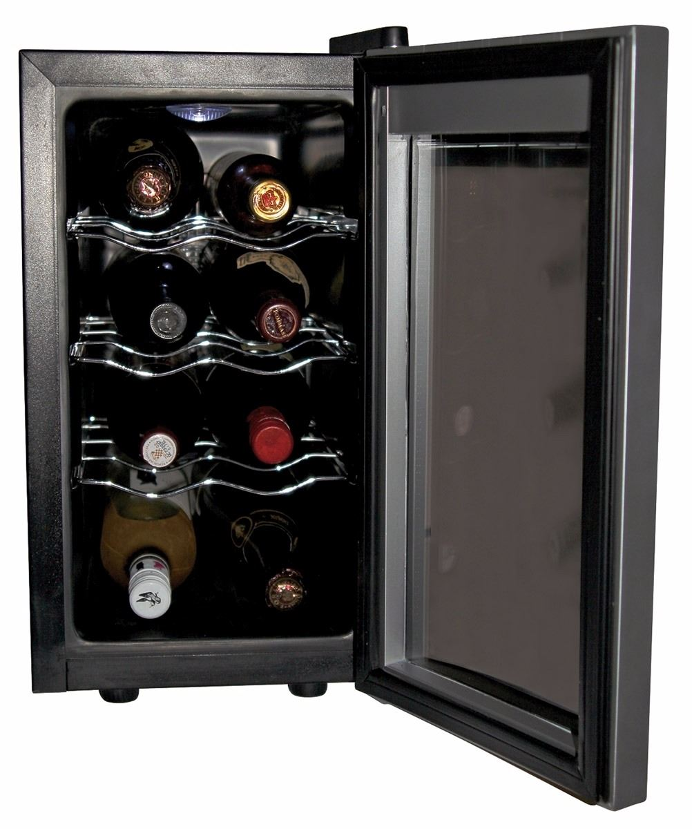 New koolatron countertop 8 bottle wine cooler msrp 247 at for Modern homes 8 bottle wine cooler