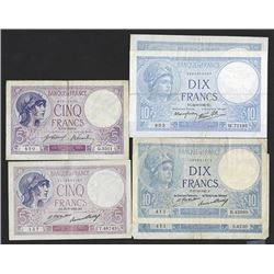 Banque de France. 1917-41 Issues.