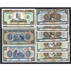 Banque de la Republique d'Haiti. ND-1992 Issues.
