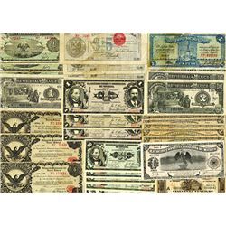 Mexico Revolutionary Banknote Assortment, ca.1913-1915.