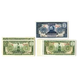 Banco Central Del Paraguay, L.1952 Assortment of 25 Notes.