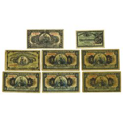Peru Banknote Assortment, 1917 to 1935 Issue Assortment