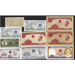State Bank of Viet Nam. 1980-87 Issues. Plus some early issues.