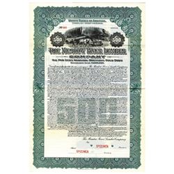 Meadow River Lumber Co., 1914 Specimen Bond