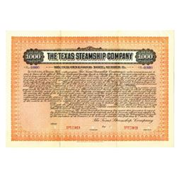 Texas Steamship Cp., 1915 Specimen Bond
