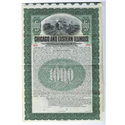 Chicago Great western Railroad Co., 1905 Specimen Bond