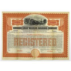 Chicago Great western Railroad Co., ca.1900-1910 Specimen Bond