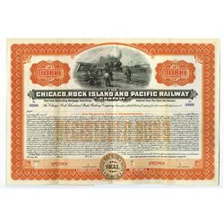 Chicago, Rock Island and Pacific Railway Co., ca.1900-1910 Specimen Bond