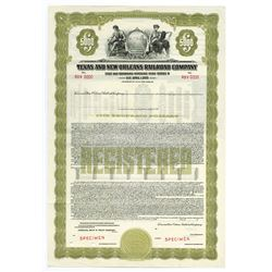 Texas and New Orleans Railroad Co., 1938 Registered Specimen Bond.