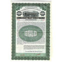 Connecticut Valley Street Railway Co., 1909 Specimen Bond