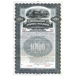 Michigan Central Railroad Co., 1901 Specimen Bond