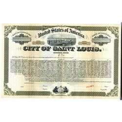 City of Saint Louis, ca.1900-1910 Specimen Bond