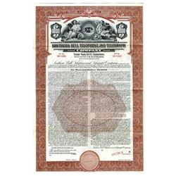 Southern Bell Telephone and Telegraph Co., 1942 Specimen Bond