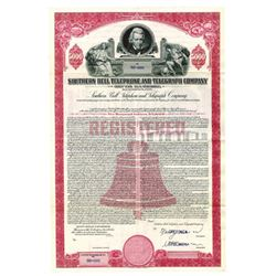 Southern Bell Telephone and Telegraph Co., 1955 Specimen Bond