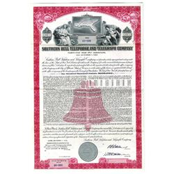 Southern Bell Telephone and Telegraph Co., 1958 Specimen Bond