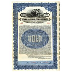 General Cable Corp., 1928 Specimen Bond