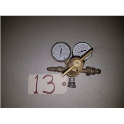 Victor USG Gauge compressed gas regulator