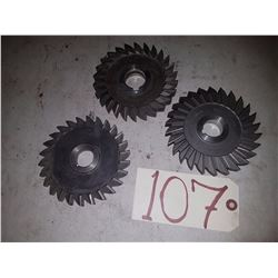 Lot of Milling Cutter 5''