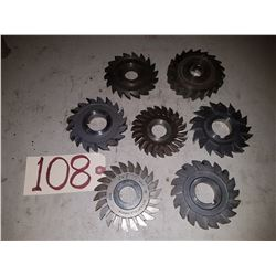 Lot of Milling Cutter 4''