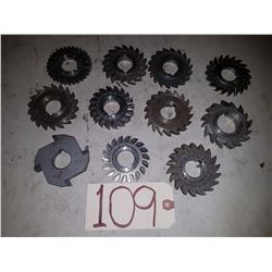 Lot of Milling Cutter 3''
