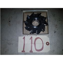 Indexable Carbide Tipped Milling Cutter 4''