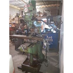Precimaster Milling Machine with Feed & Digital Read Out