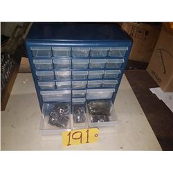 Plastic Cabinet of Spare Parts